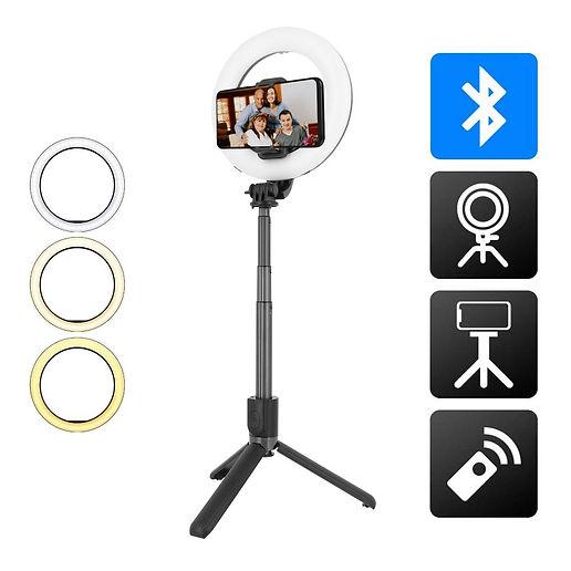 Selfie Stick Ring Light