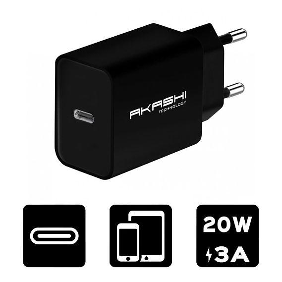 Secteur USB-C 20W Noir