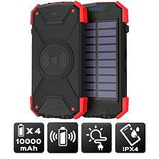 Batterie secours solaire    telephone 10 000 mAh