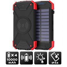 Power bank 10 000 mAh - Batterie Solaire - Port USB - USB C