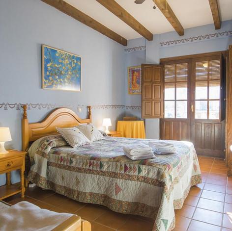 Habitación cama matrimonio para 4 personas