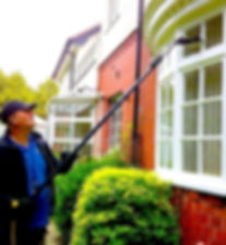 window cleaning wilmslow