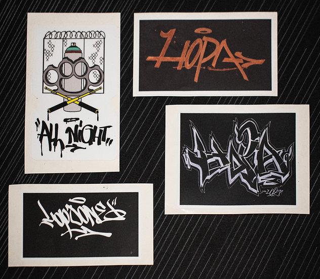 Stickere Hopa