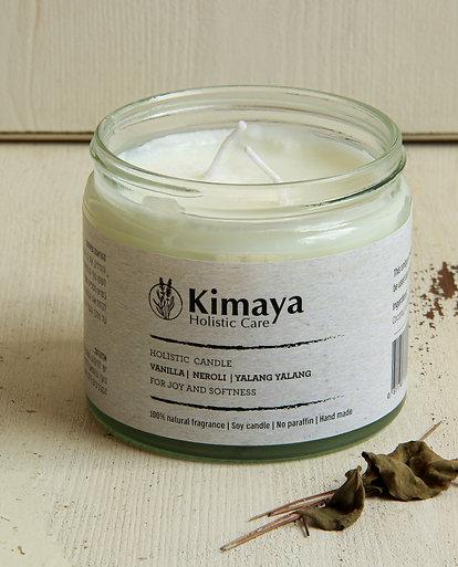 Holistic Massage Candle - Vanilla- Neroli - Ylang Ylang