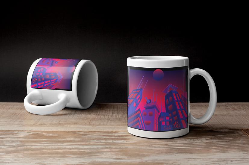 Original Toybox & Power city mug