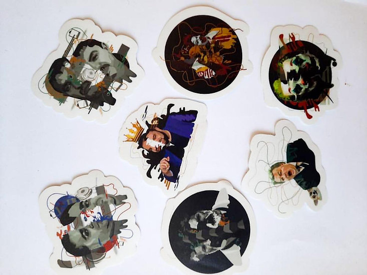 Sticker pack AA