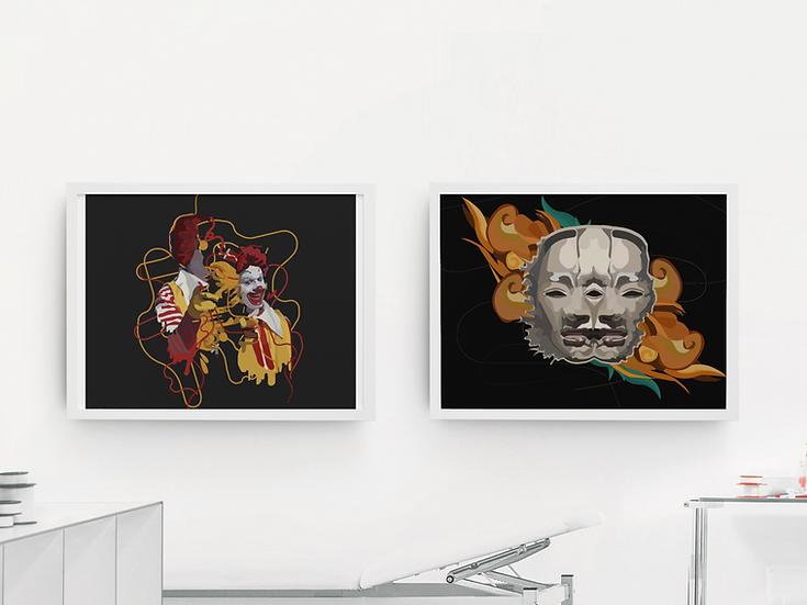Art prints by AA