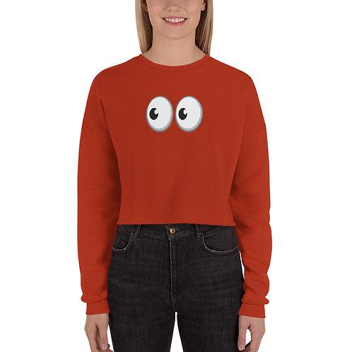 Peep Crop Sweatshirt