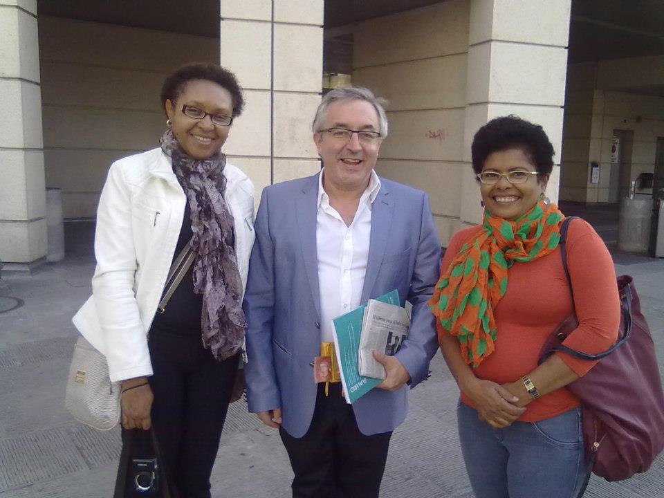 Com Joaquim Dolz e Luzia Bueno