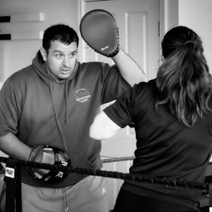 Graham Mattison - Boxer and Coach at Alliance Boxing Club Leeds