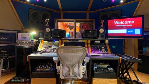 Audio Control Room