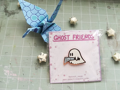 Knife Ghost Pin