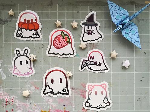 Ghost Friend Stickers
