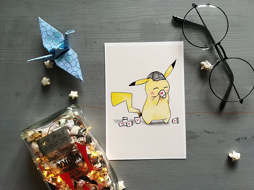 Detective Pikachu Print