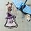 Thumbnail: Wizard Ghost Friend Acrylic Charm