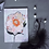 Thumbnail: Small Acrylic Painting of a Flower on Canvas