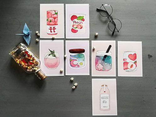 Aesthetic drink prints