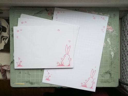 Bunny Letter Sets