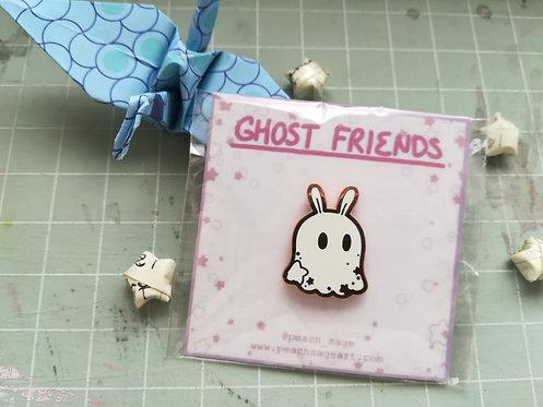 Ghost Bunny Pin