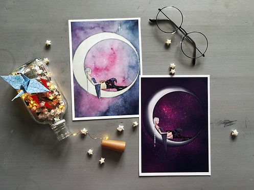 Moon Witch Prints