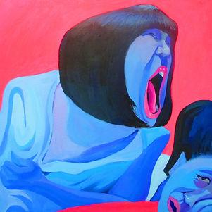 2 ,2012,80*80cm,acrylic paint80cm,Material:Propylene.jpg