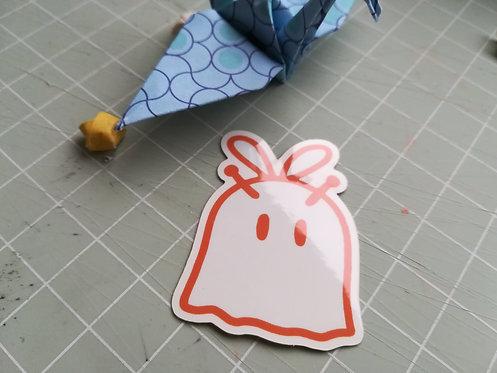 Bee Ghost Sticker