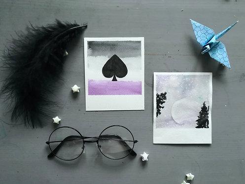 Polaroid Original Paintings