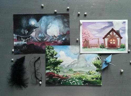 Game Fanart Paintings