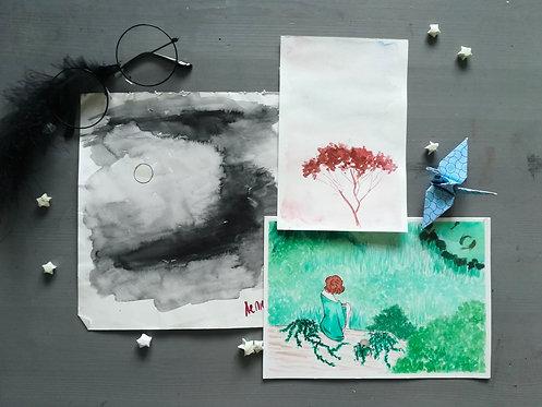 Random Original Paintings