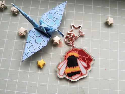 Bumblebee Acrylic Charm