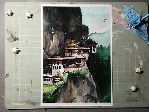 """The beginning"" prints"