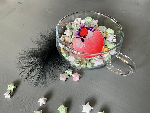 Dessert Ball Acrylic Charm Keychain
