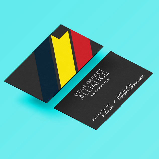 brand and card design