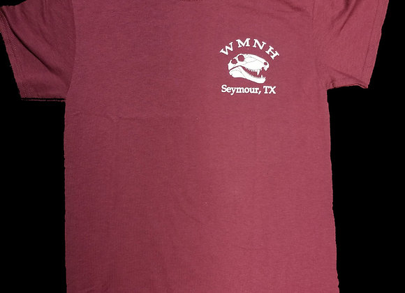 YOUTH - Maroon Dimetrodon Shirt