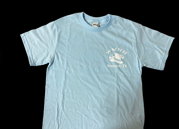 ADULT- Light Blue WMNH T-Shirt