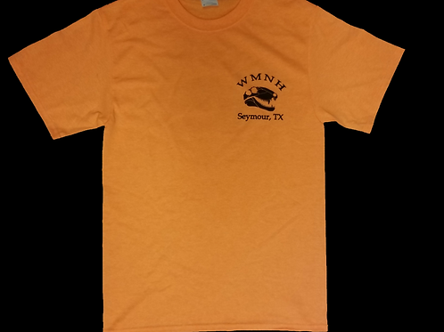 ADULT - WMNH Orange T-Shirt