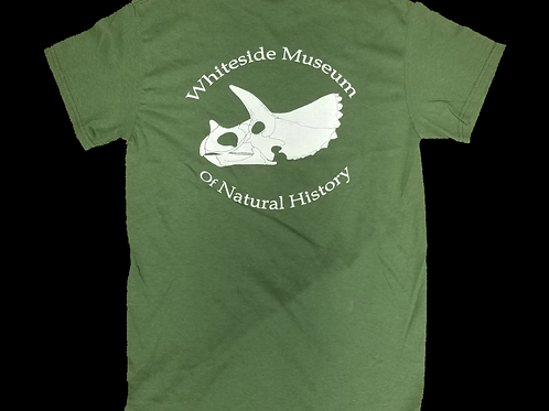 ADULT - WMNH Triceratops T-Shirt