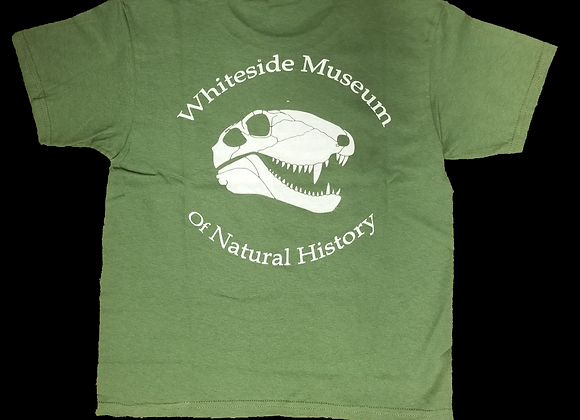YOUTH - WMNH Green Dimetrodon T- Shirt