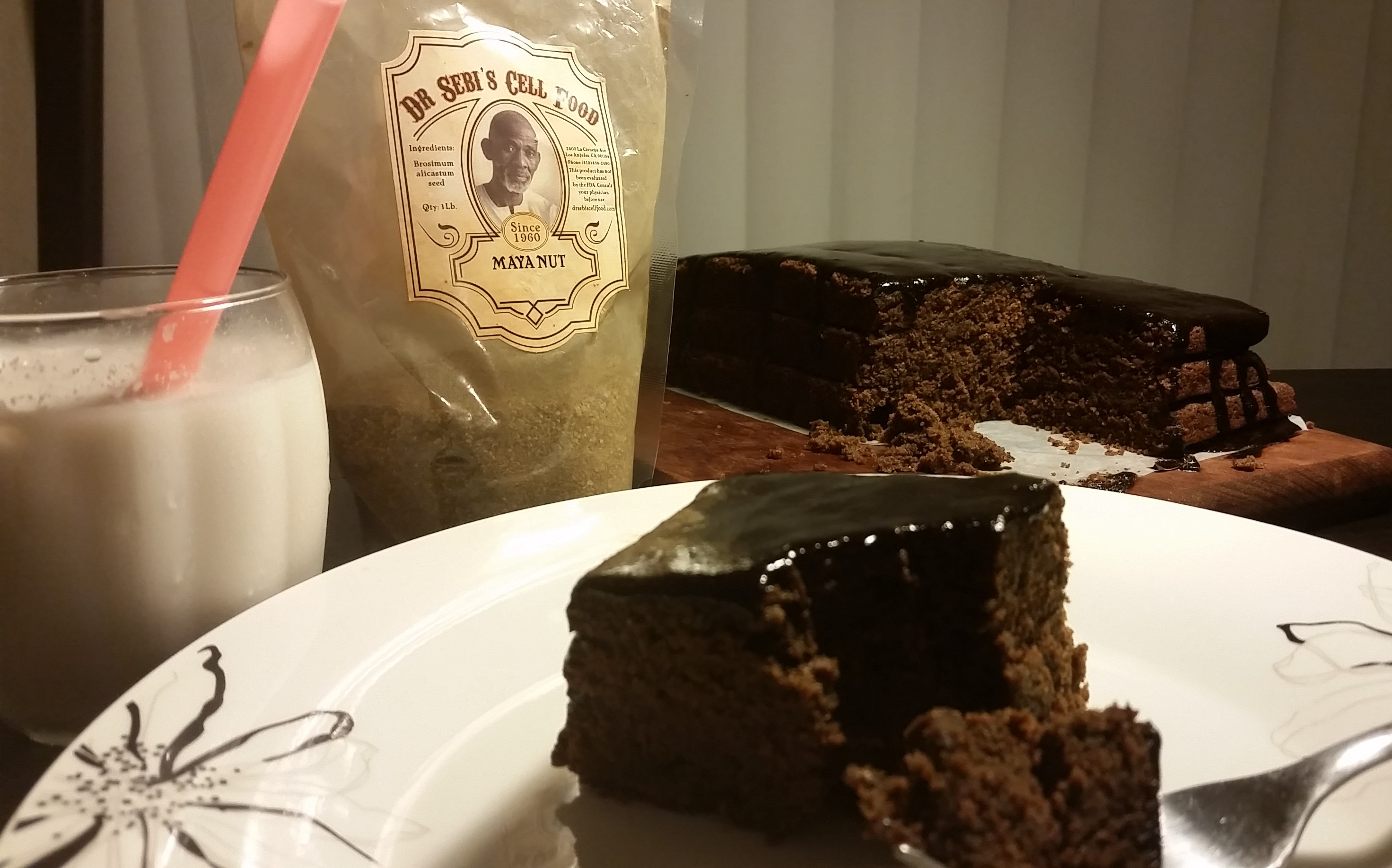 Dr. Sebi Maya Nut Cake
