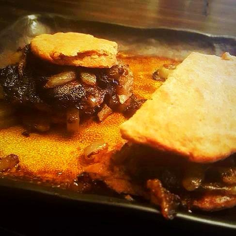 Janelle's Mushroom Steak-ums