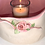 Thumbnail: Soft Pink Natural and Rose Earthenwear Luminary and Planter