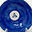 Thumbnail: Blue Glazed Holy Water Font and Bowl