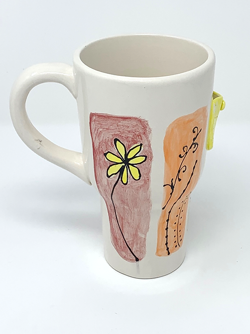 Red, Orange and Yellow Spring Collection Travel Mug