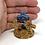 Thumbnail: Mini Calvary Crosses - Warm Oak and Blue