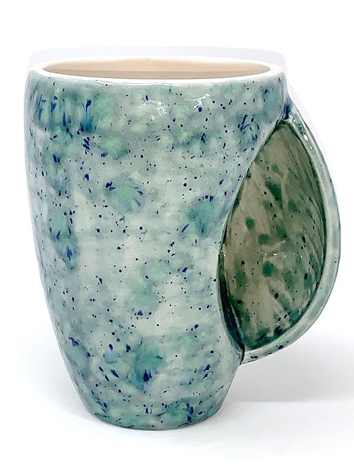Seawind Green and Blue Hand Warmer Mug