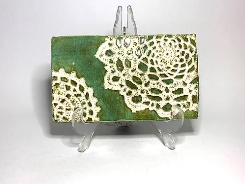 Green Hot Plate Trivet