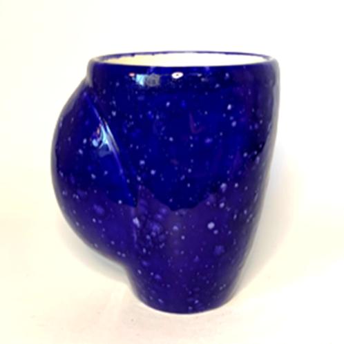 Blue Hand-Warmer Coffee Mug