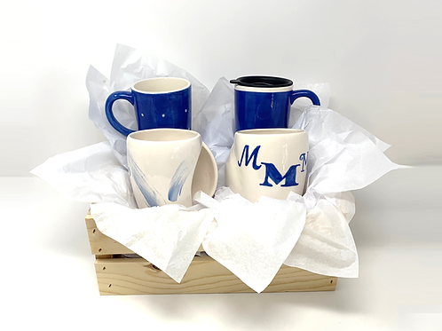 Personalized 4-Mug Gift Set (Click on photo then thumbnail photos)