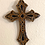 Thumbnail: Warm Oak and Black Wall Cross