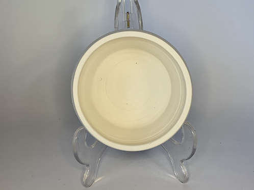 White Bisque Bowl or Planter